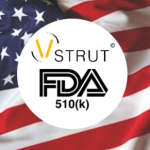 FDA clearance for V-STRUT© !
